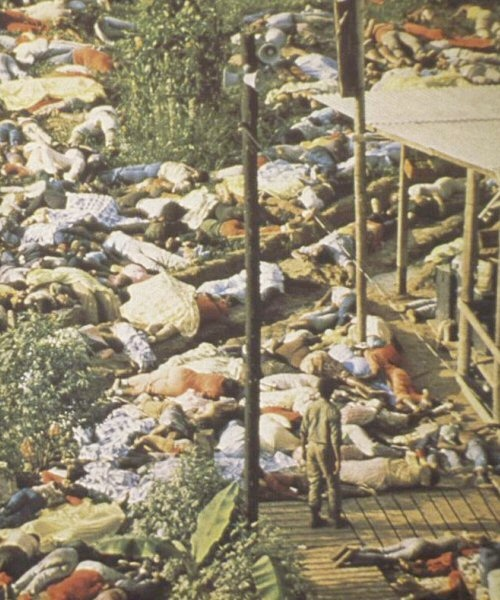 the life of jim jones and the mass suicide of over 910 followers of the peoples temple in 1977 The mass suicide-murder took place at the so-called jonestown settlement in the south american nation of guyana origins of the peoples temple prior to the terrorist attacks of september 11, 2001, the tragedy at jonestown marked the single largest loss of us civilian lives in a non-natural.